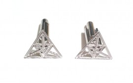Triangles Cufflinks
