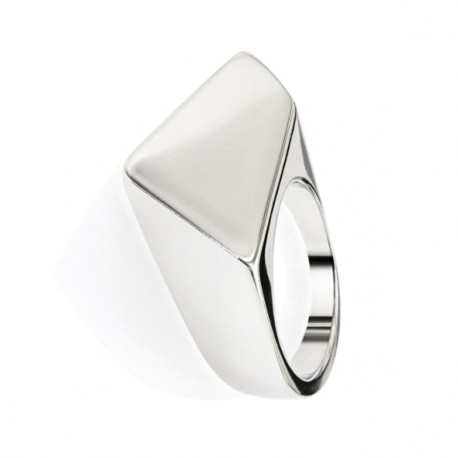 Rhodium Silver Ring