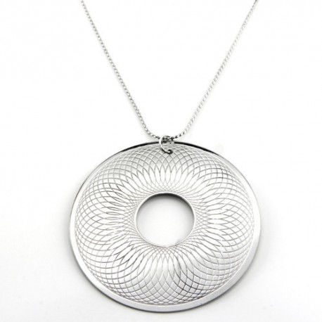 Sphiro Round Necklace